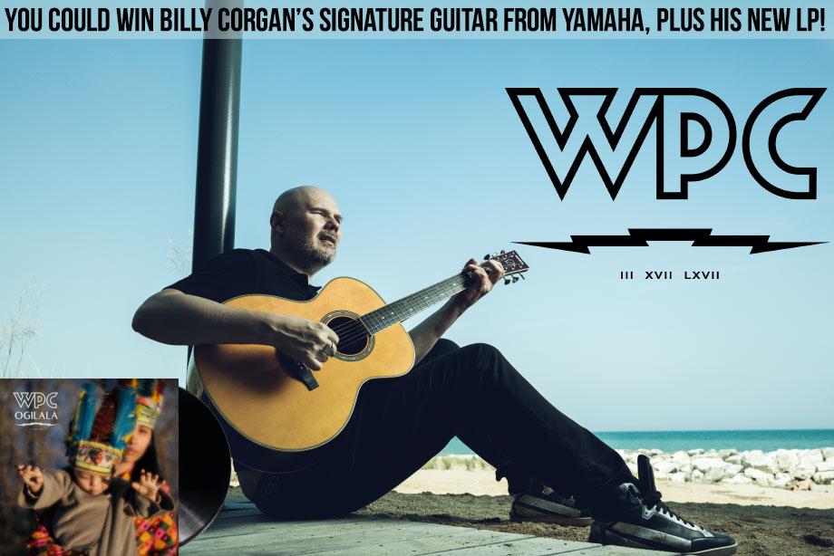 Win Billy Corgan's signature Yamaha guitar!