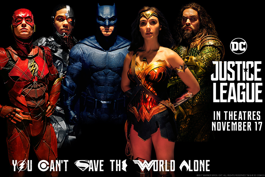 'Justice League' - Win a Silver Snail gift card and advance screening passes!