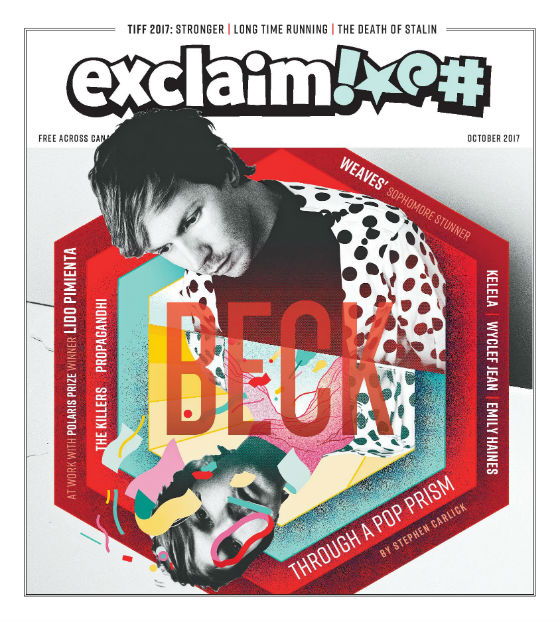 Beck, Wyclef Jean, the Killers, Weaves and Lido Pimienta Fill Exclaim!'s October Issue