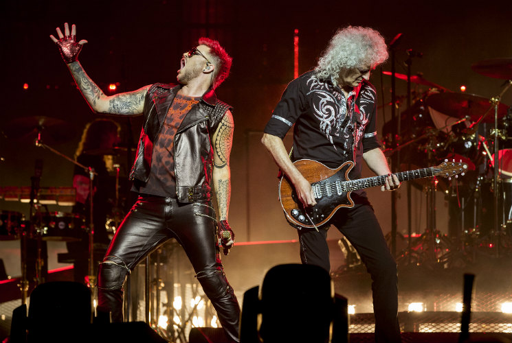 Queen + Adam Lambert Rogers Place, Edmonton AB, July 4