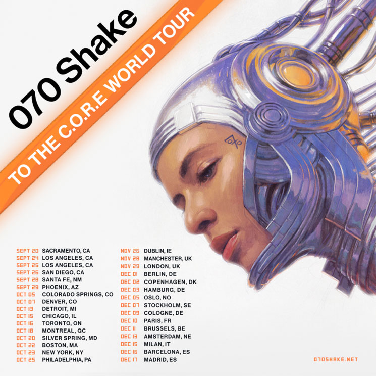 070 Shake to Hit Canada This Fall on 'To the C.O.R.E. World Tour'