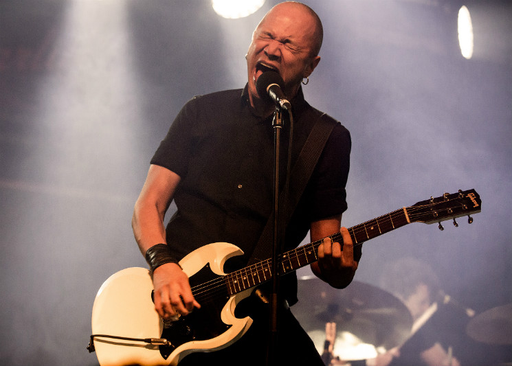 Relive Danko Jones' Edmonton Tour Stop in Photos