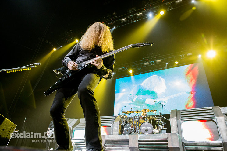 Relive Megadeth's Edmonton Tour Stop in Photos