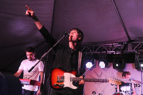 Ought Mainstage Tent, Sackville NB, August 2