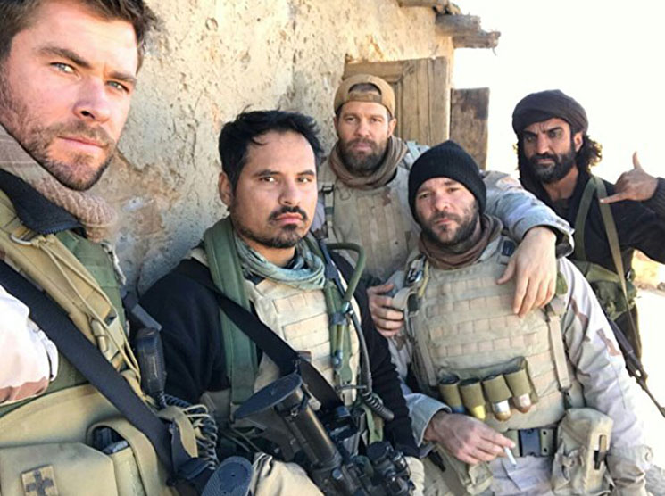 "Inside '12 Strong': ""Authentic"" Horse Riding and Cardigan-Wearing Veterans"