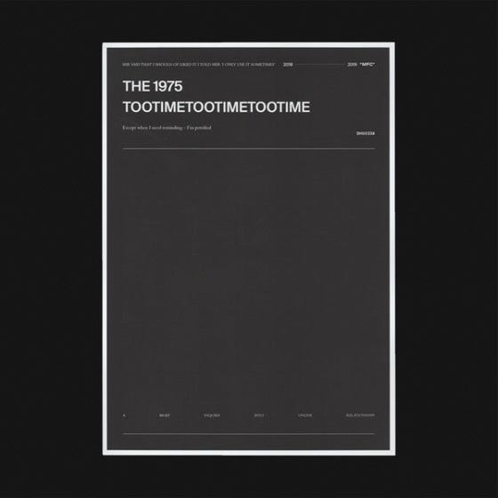 "The 1975 Share New Song ""TOOTIMETOOTIMETOOTIME"""