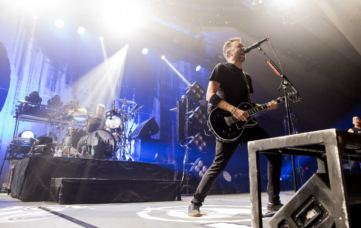 Relive Rise Against's Edmonton Tour Stop in Photos