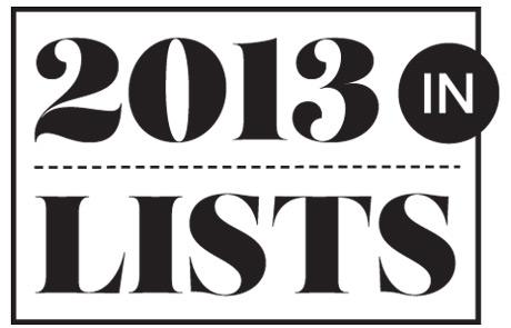 The Year in Lists: Best Albums of 2013, Top Videos, Greatest Beefs, Worst Cover Art and So Much More