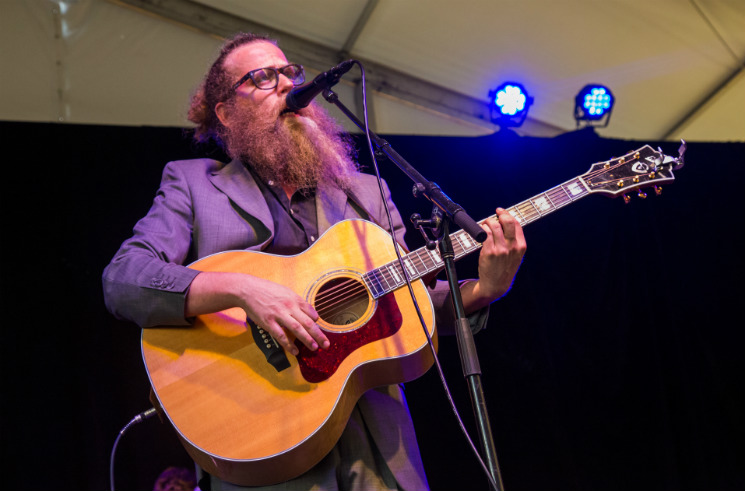 Ben Caplan Scène Tartan Homes Stage, Ottawa ON, June 27