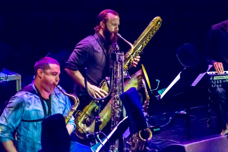 Colin Stetson NAC Studio, Ottawa ON, June 27