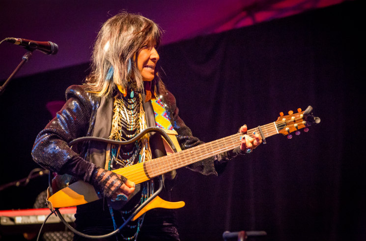 Buffy Sainte-Marie Confederation Park Main Stage, Ottawa ON, June 28