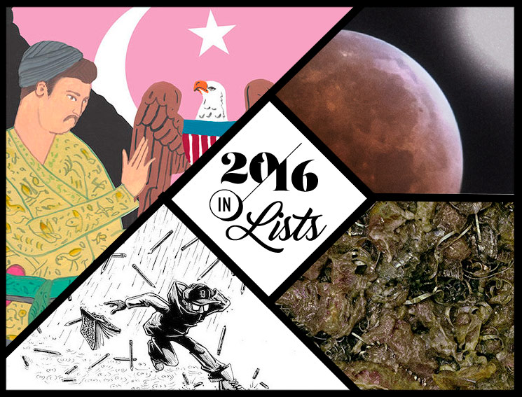 These Are the 10 Most Underrated Records of the Year 2016 in Lists