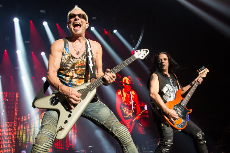 Scorpions / Megadeth Place Bell, Laval QC, September 19