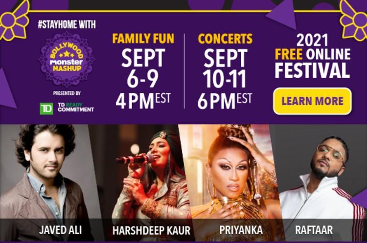 'Canada's Drag Race' Winner Priyanka & Bollywood Stars to Perform at #BollywoodMonster Mashup
