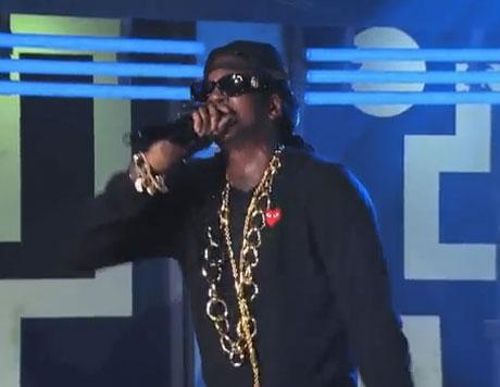 2 Chainz 'Birthday Song' (live on 'Kimmel')