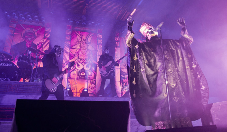 Relive Ghost's Calgary Tour Stop in Photos