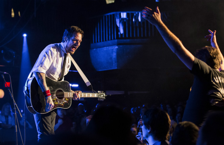 Frank Turner & the Sleeping Souls Union Hall, Edmonton AB, March 6