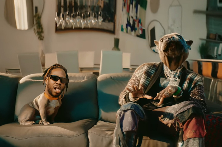 2 Chainz Lives a Dog's Life in His 'Grey Area' Video