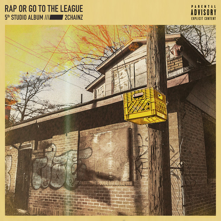 2 Chainz Shares Artwork for 'Rap or Go to the League'