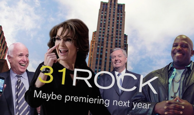 Sarah Palin Does Tina Fey Impression in Awful '31 Rock' Sketch