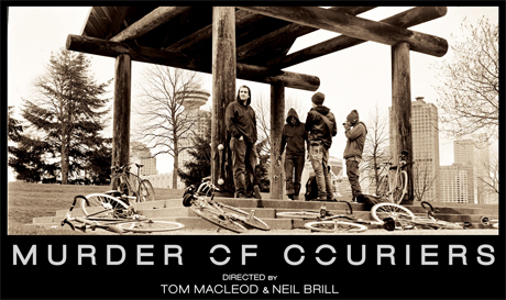 3 Inches of Blood's Justin Hagberg Scores Vancouver Bike Courier Film