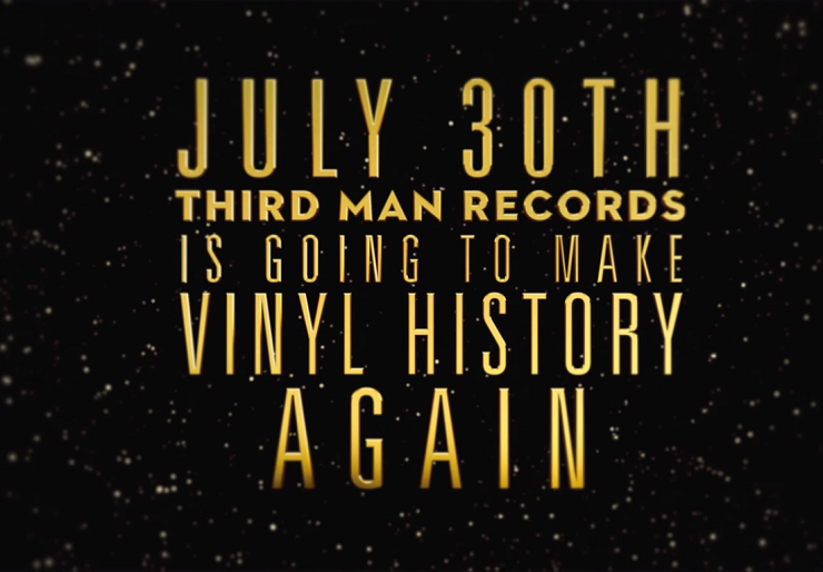Jack White to 'Make Vinyl History' by Playing a Record in Outer Space?