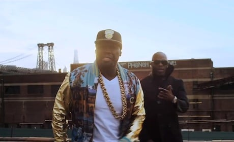 "50 Cent ""Big Rich Town"" (ft. Joe) (video)"
