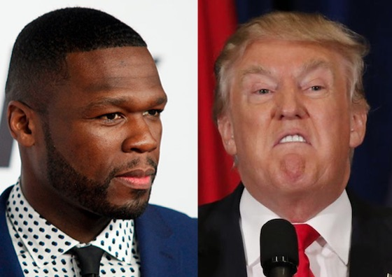 50 Cent Says Donald Trump Offered Him Half a Million Dollars to Help with Presidential Campaign