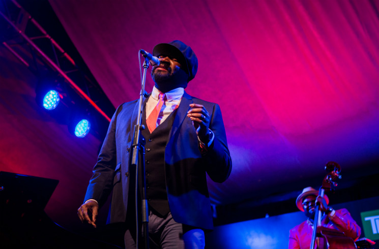 Gregory Porter / Kandace Springs Nathan Phillips Square, Toronto ON, June 28