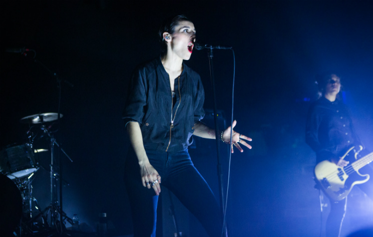 Savages Danforth Music Hall, Toronto ON, April 4