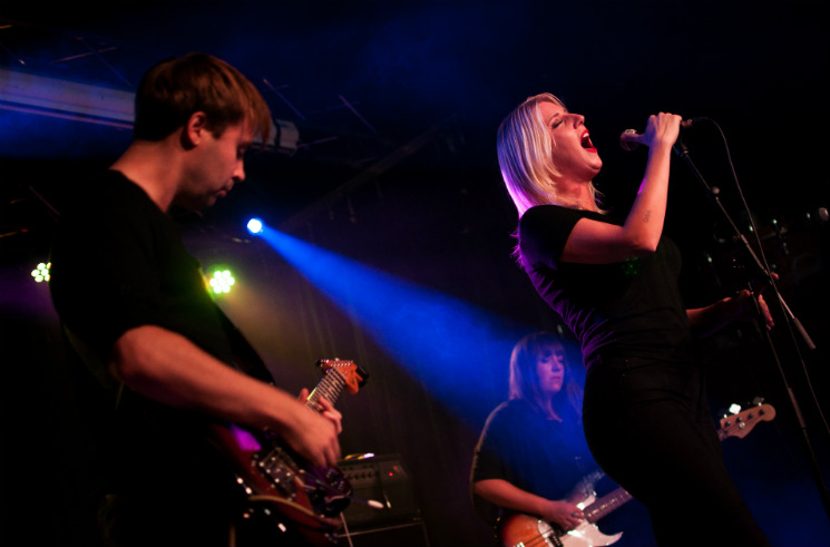 White Lung The Needle Vinyl Tavern, Edmonton AB, October 8