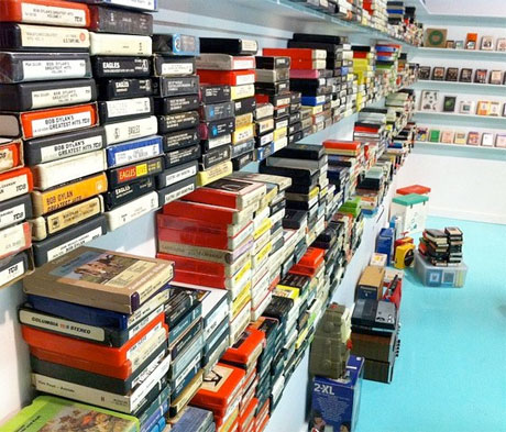 New Eight-Track Museum Celebrates the Gone but Not Forgotten Format