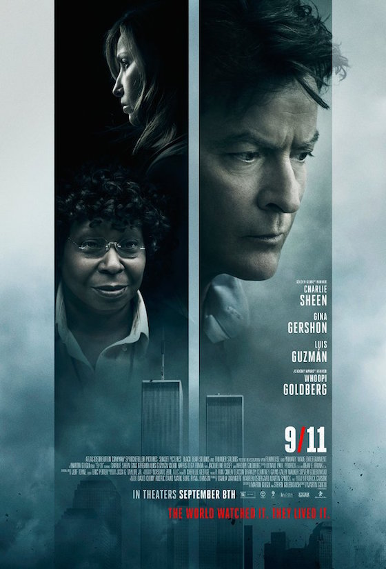 Charlie Sheen and Whoopi Goldberg Made a 9/11 Movie Called '9/11'