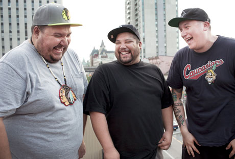A Tribe Called Red Hit the Canadian Road