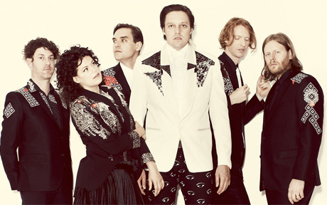 "Arcade Fire ""Get Right"" (live)"