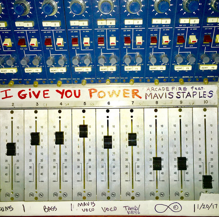"Arcade Fire Return with New Song ""I Give You Power"""