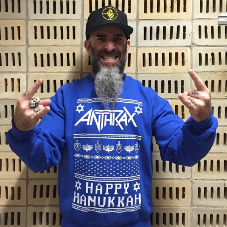 Anthrax Sued for Allegedly Lifting Hanukkah Sweater Design