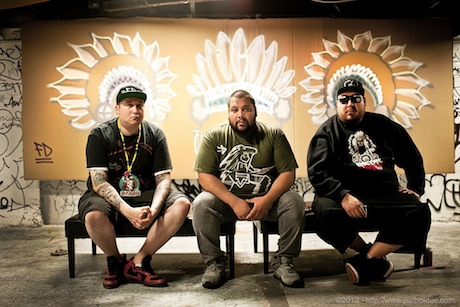 A Tribe Called Red Book Canada-Heavy North American Winter Tour