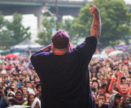 Action Bronson Fort York Garrison Common, Toronto ON, July 19