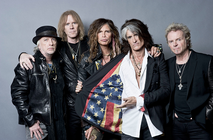 Aerosmith Reunite with Drummer Joey Kramer Onstage in Vegas
