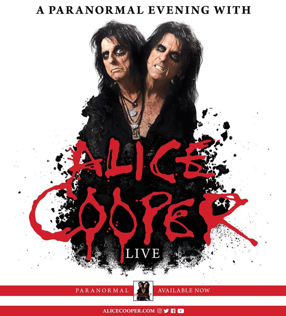 Alice Cooper Maps Out North American Summer Tour