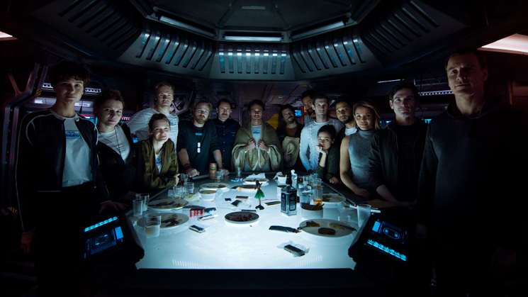 Alien: Covenant Directed by Ridley Scott