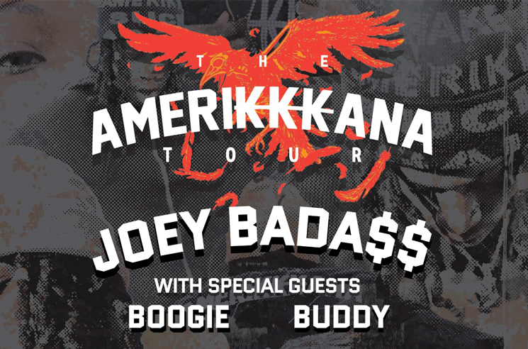 Joey Bada$$ Maps Out 'The Amerikkkana Tour'