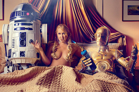 'Star Wars' and Disney Did Not Approve of Amy Schumer's 'GQ' Spread