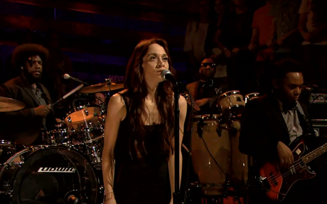 """Fiona Apple """"Anything We Want"""" / """"Let Me Roll It"""" (Wings cover) (live on 'Fallon')"""