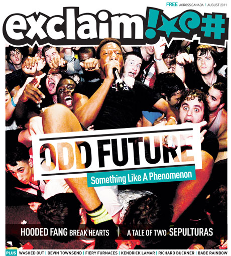 Summer Sizzles with Odd Future, Sepultura, Washed Out, Hooded Fang and More in Exclaim!'s August Issue