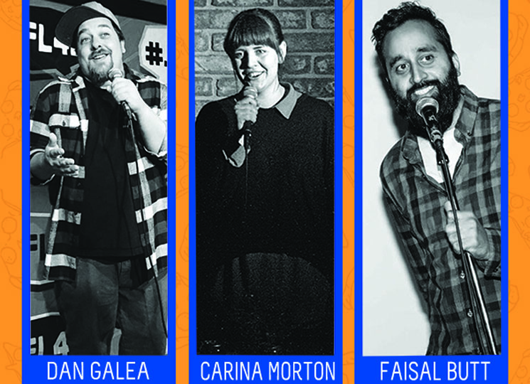 Faisal Butt, Carina Morton and Dan Galea Get Friendly at the Comedy Records/Exclaim! Standup Showcase