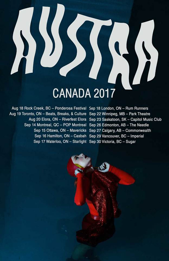 Austra Announce Canadian Tour