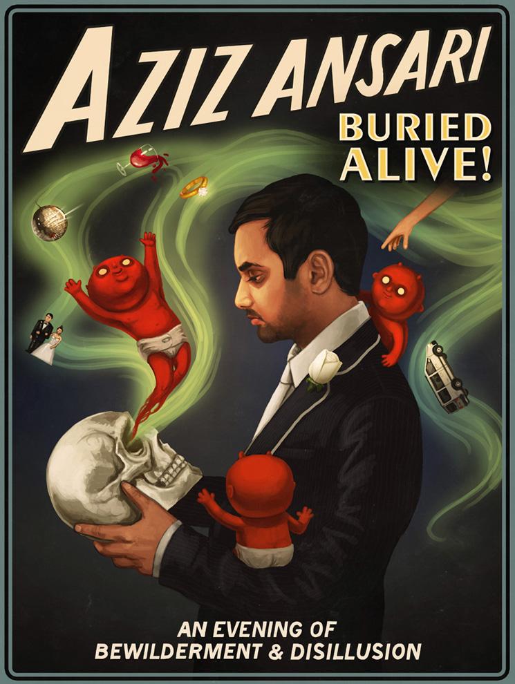 Aziz Ansari Buried Alive