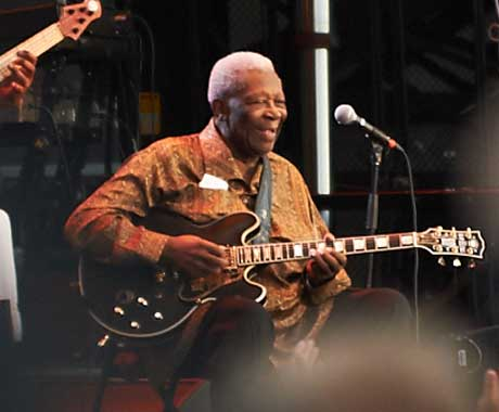 B.B. King Co-Headlining Stage, LeBreton Flats, Ottawa ON, July 14
